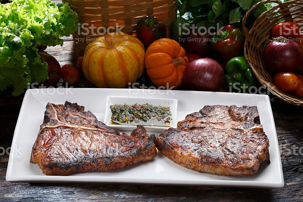 t-bone stock photo