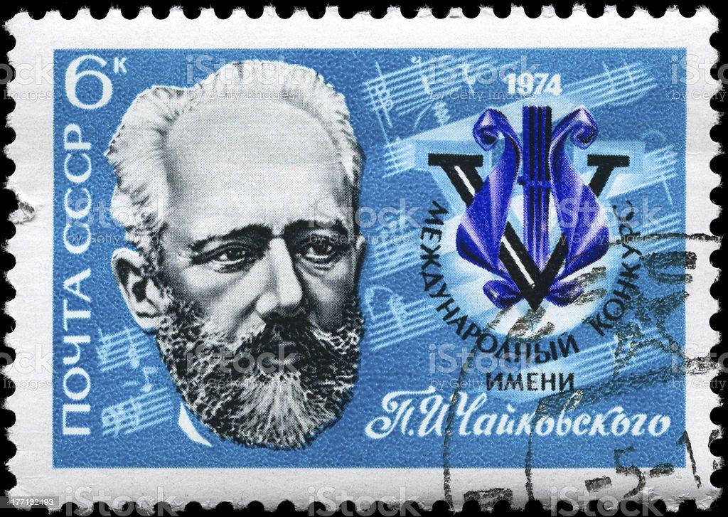 Tchaikovsky stock photo