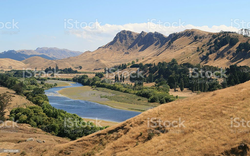 Te Mata peak, Hawkes Bay, NZ stock photo