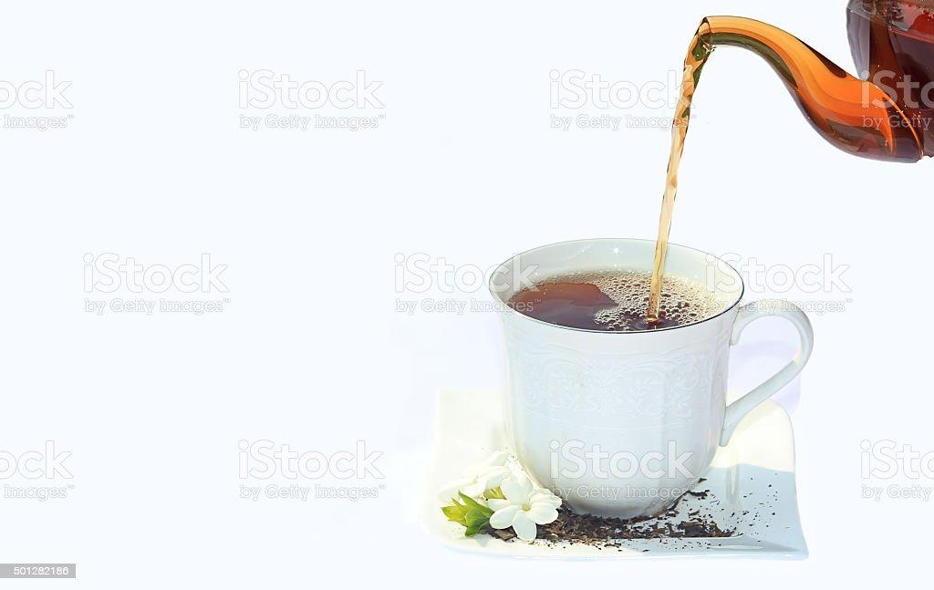 Tea 1 stock photo
