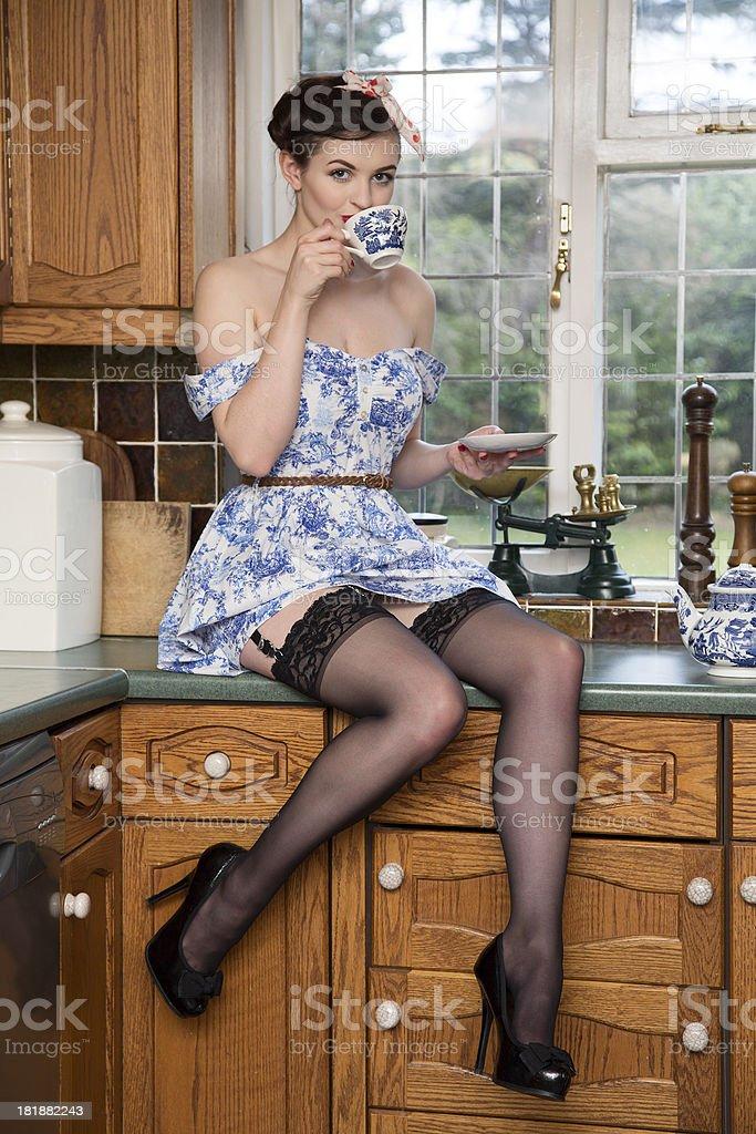 Tea anyone? royalty-free stock photo