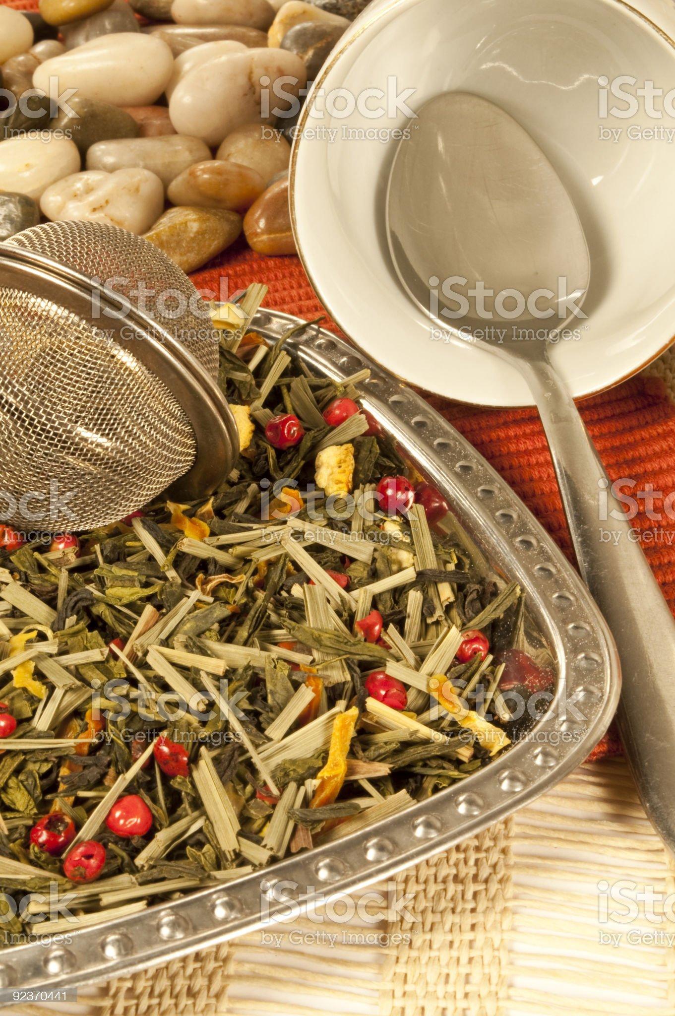 Tea aromatizzato royalty-free stock photo