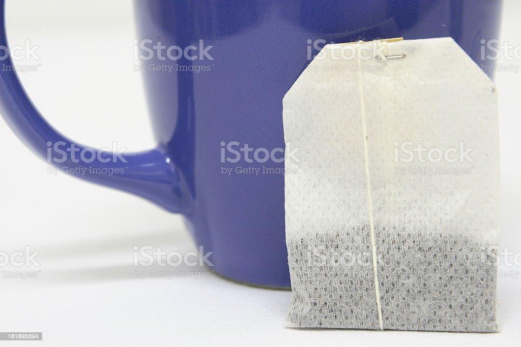 Tea Bag and Mug royalty-free stock photo