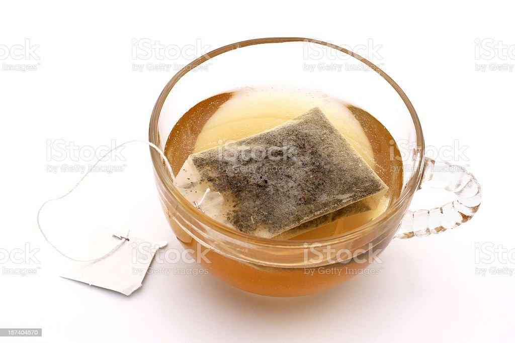 tea bag royalty-free stock photo
