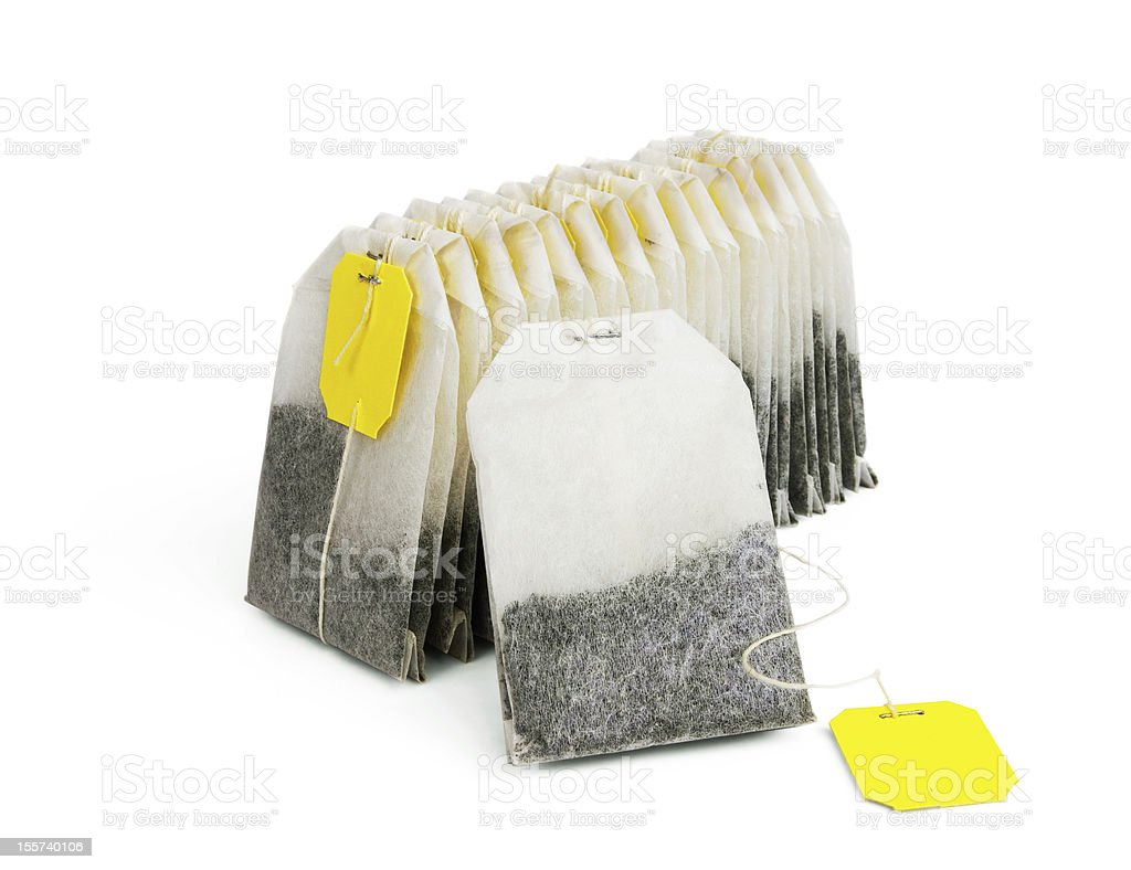 Tea bags royalty-free stock photo