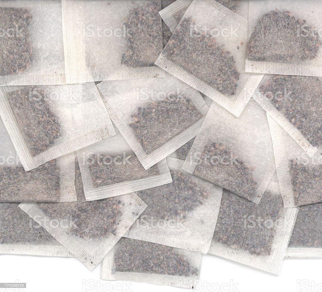 Tea bags royalty-free stock photo