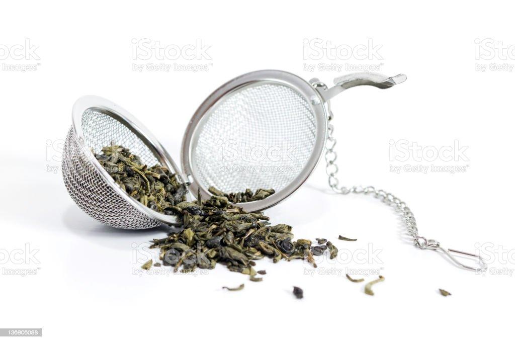 Tea Ball stock photo