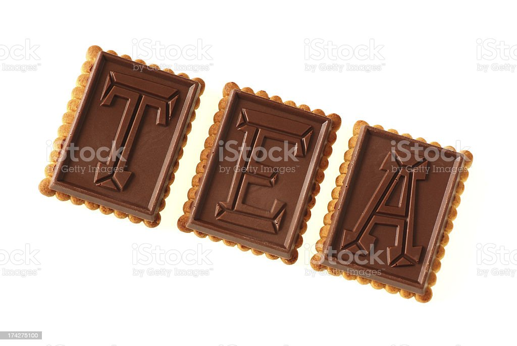 Tea Biscuits royalty-free stock photo