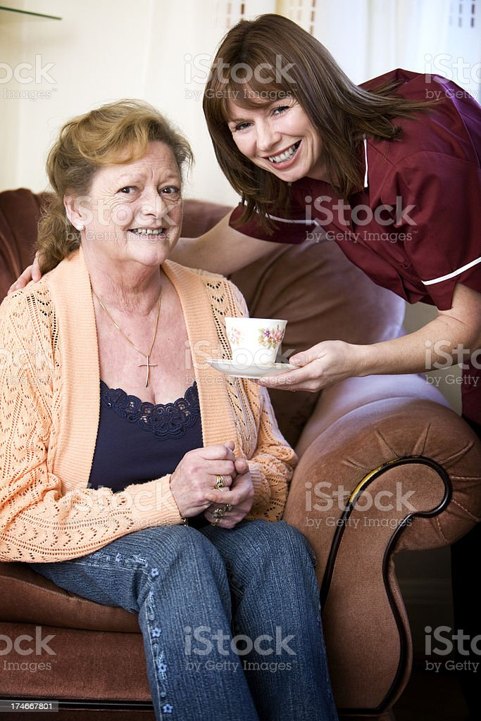 tea break royalty-free stock photo