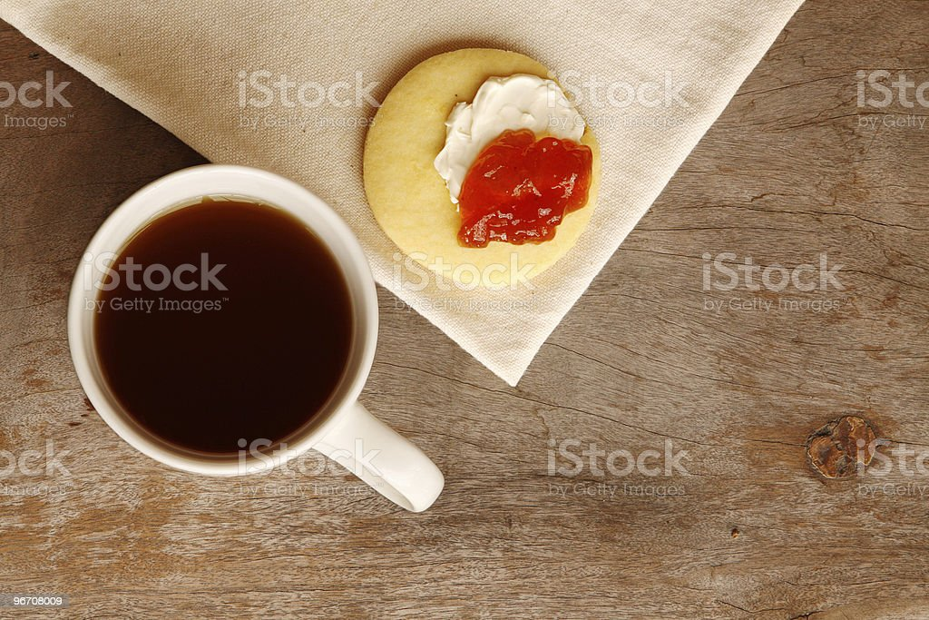Tea (or coffee) break royalty-free stock photo