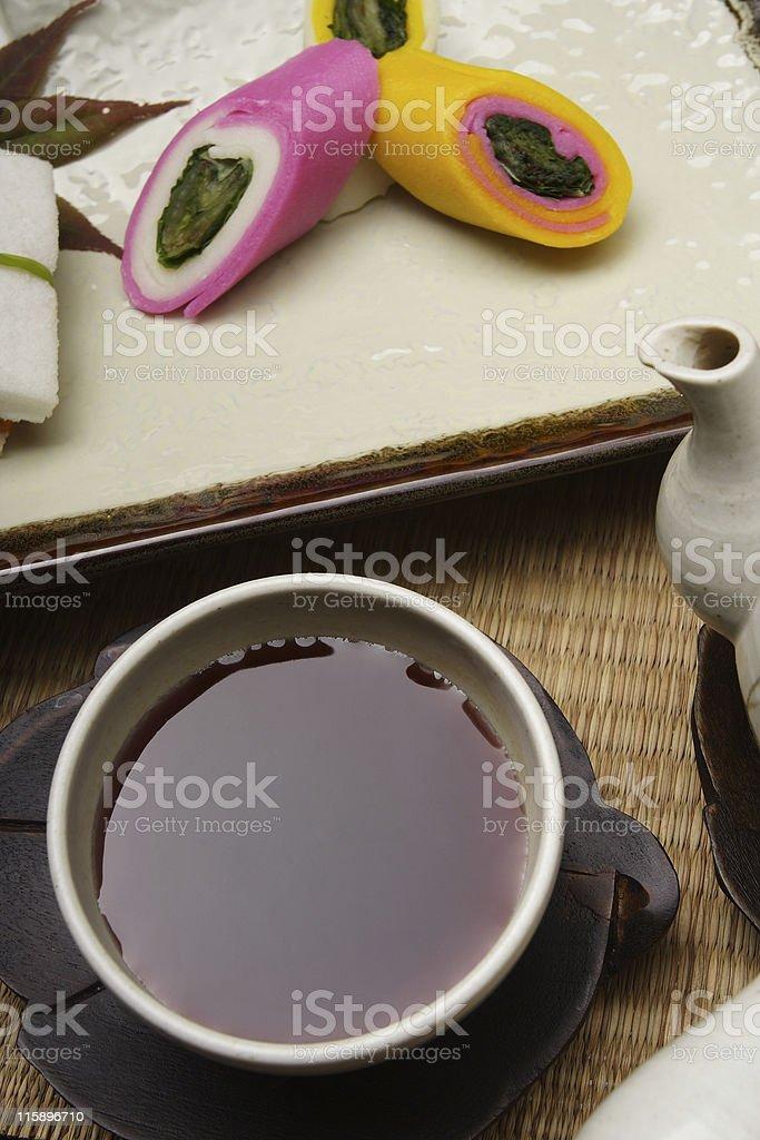 Tea & Cake stock photo