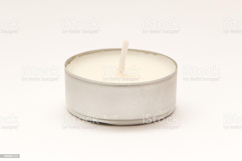 Tea Candle White stock photo