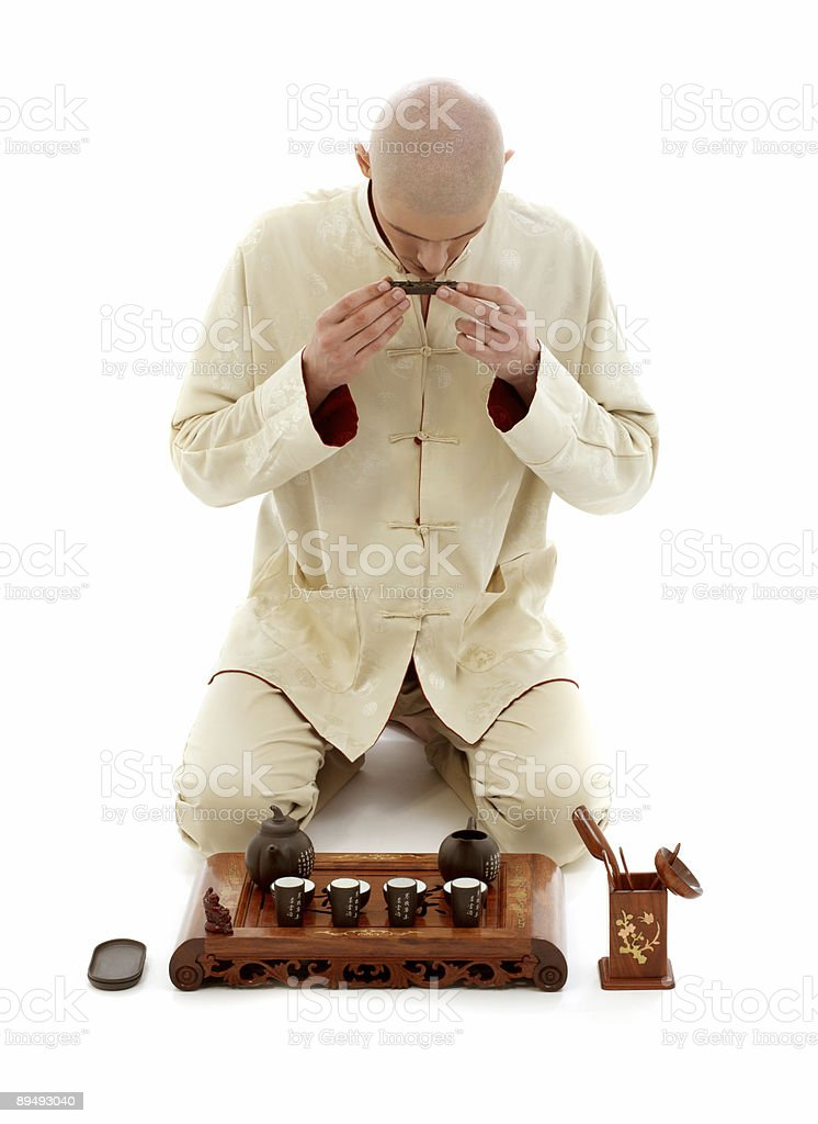 tea ceremony master royalty-free stock photo