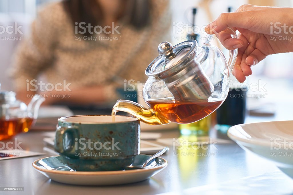Tea ceremony stock photo