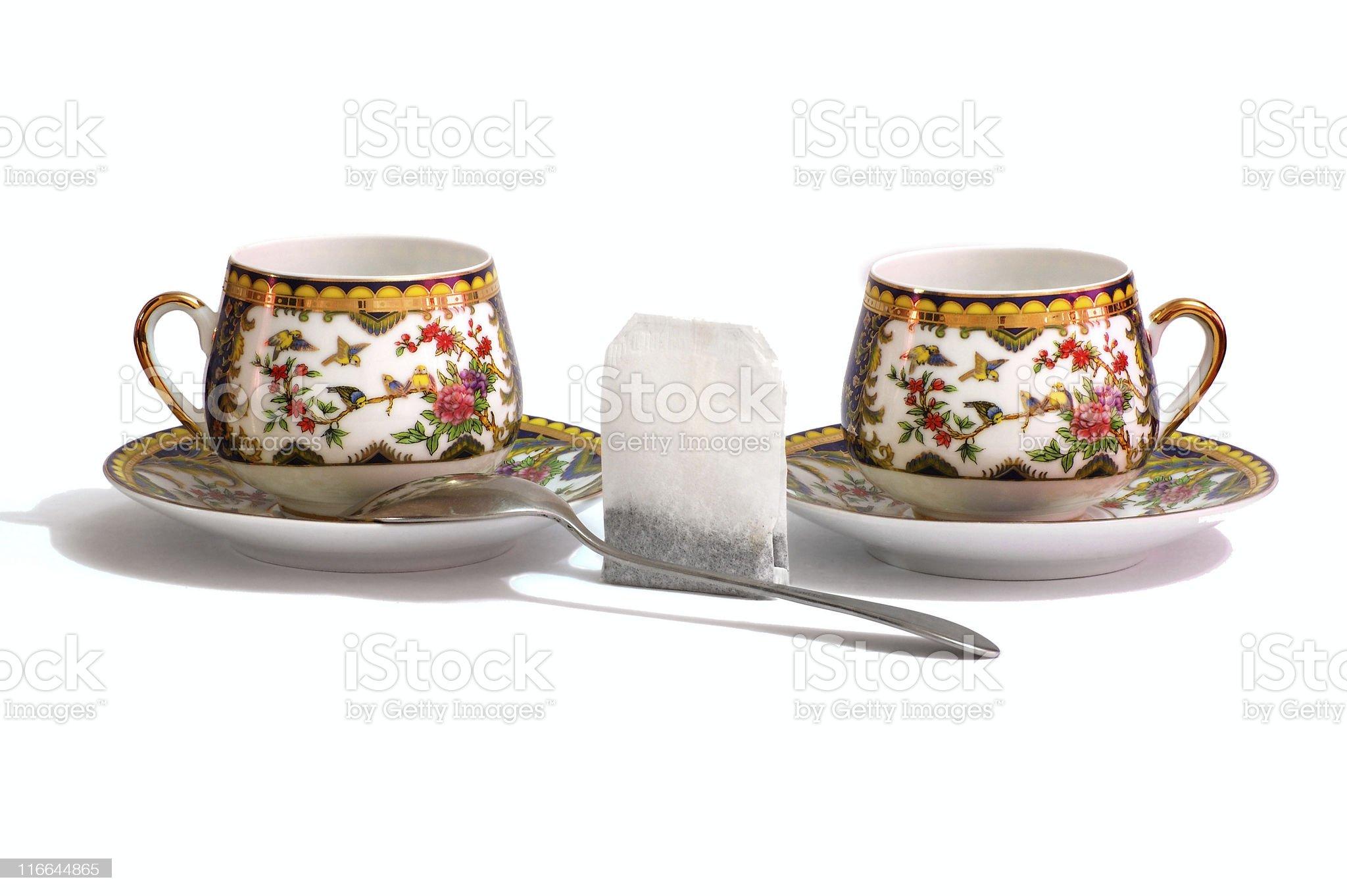 Tea composition royalty-free stock photo
