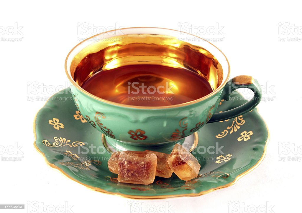 tea cup royalty-free stock photo