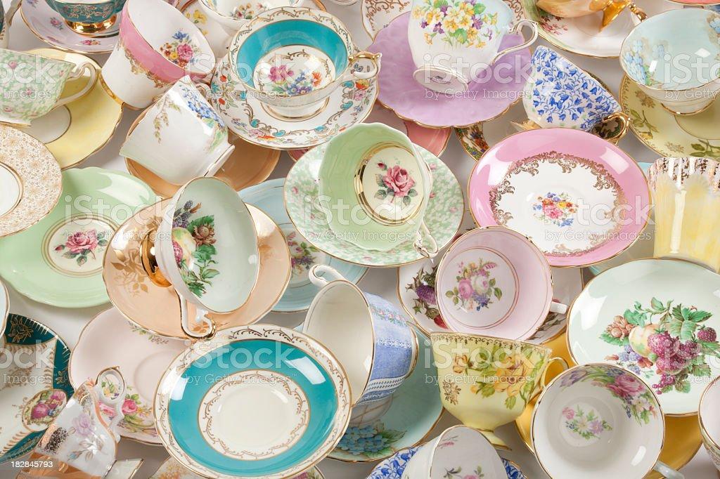 Tea Cups royalty-free stock photo