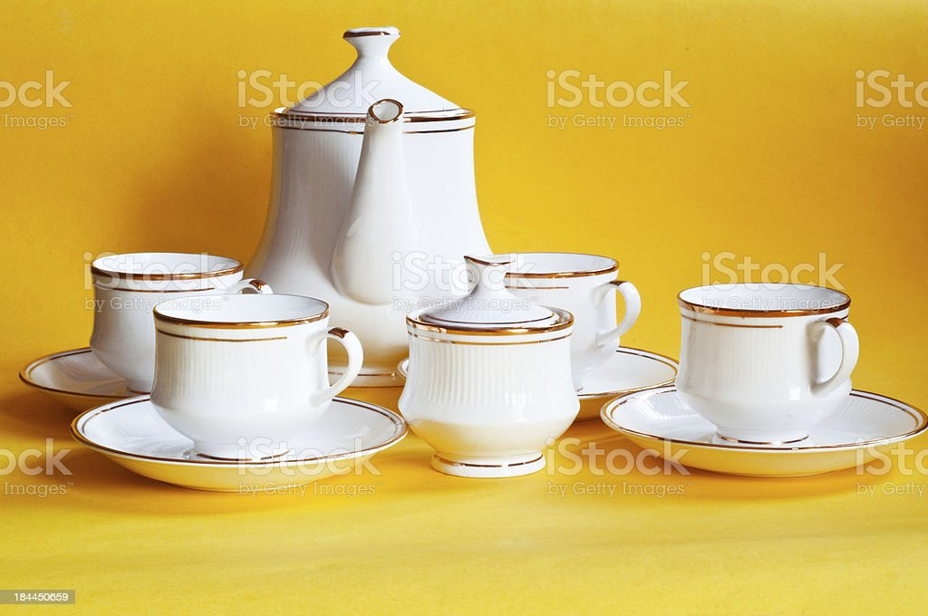 Tea Dishware royalty-free stock photo