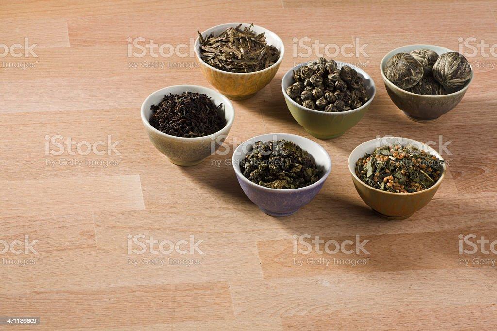 Tea Display royalty-free stock photo