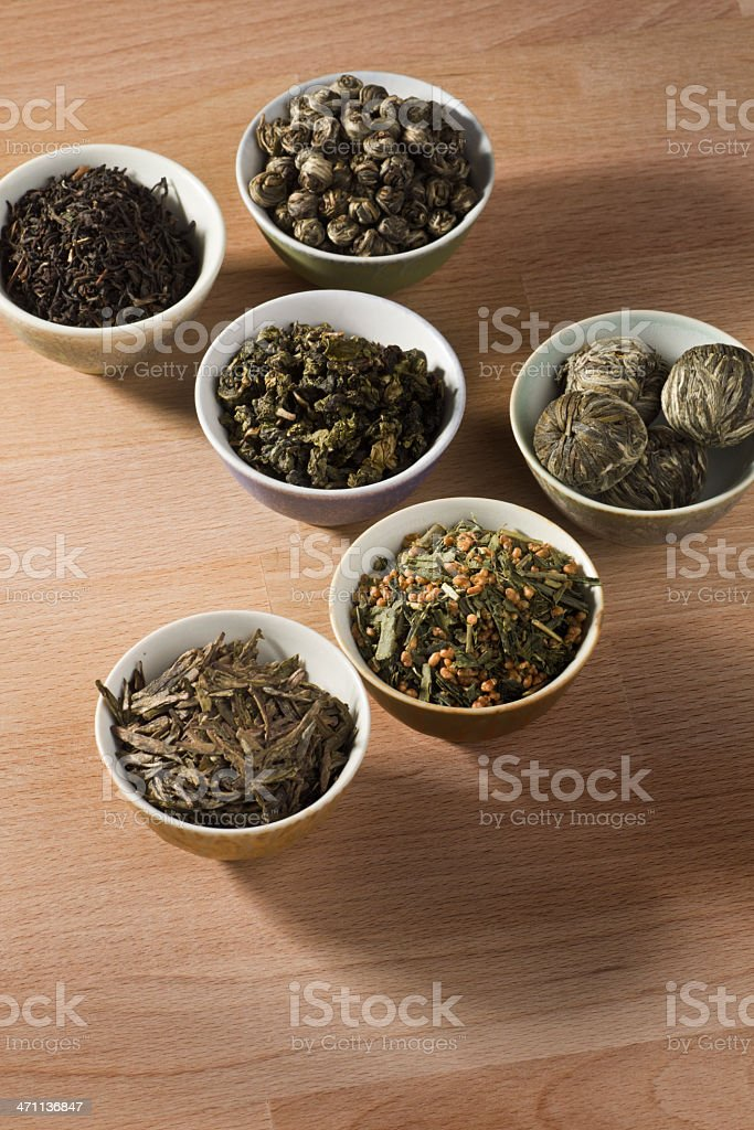 Tea Display Vt royalty-free stock photo