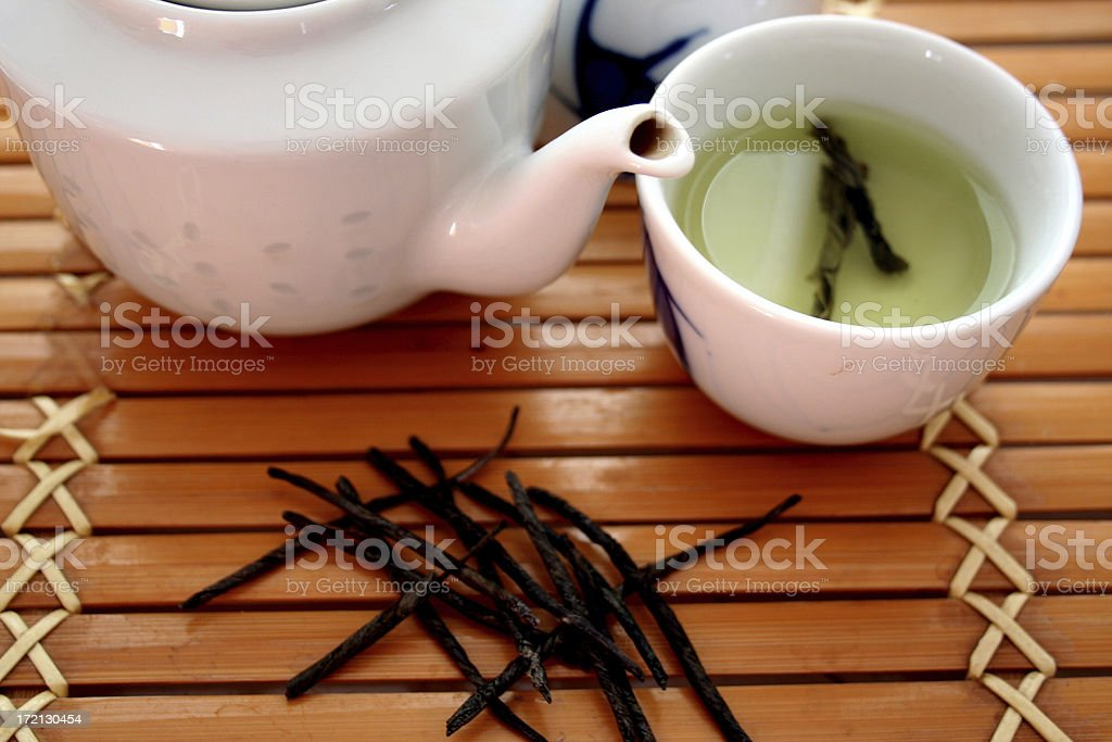Tea for one royalty-free stock photo