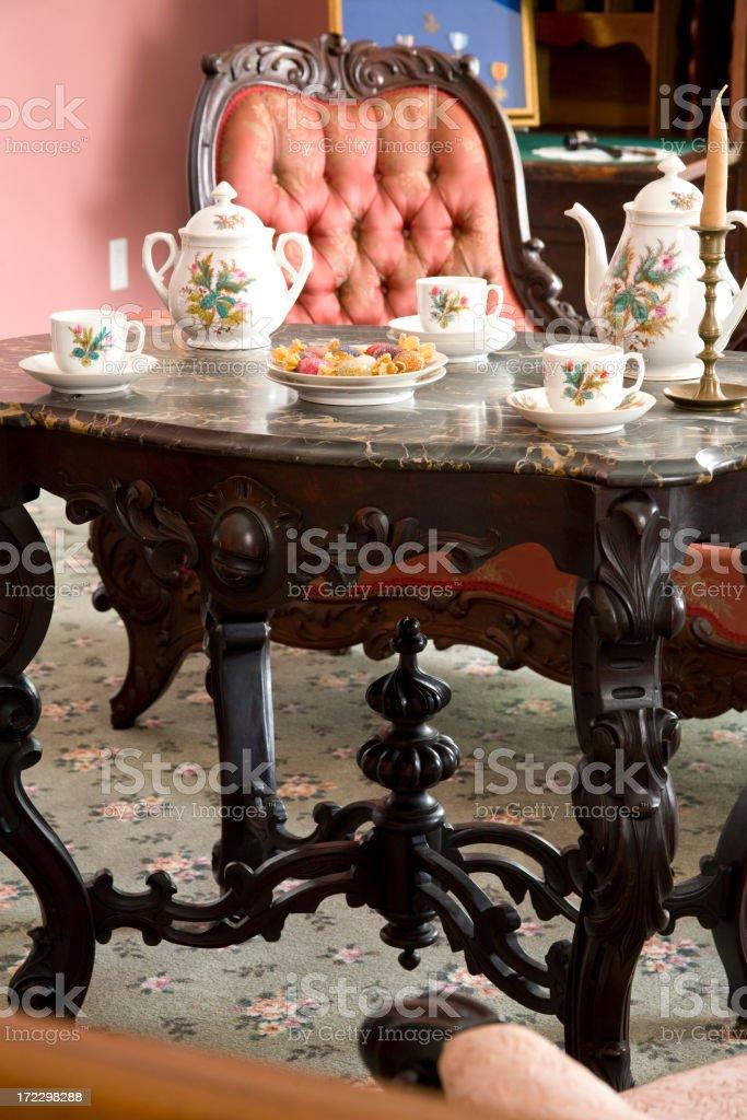 Tea for three royalty-free stock photo