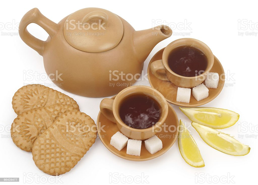 tea for two royalty-free stock photo