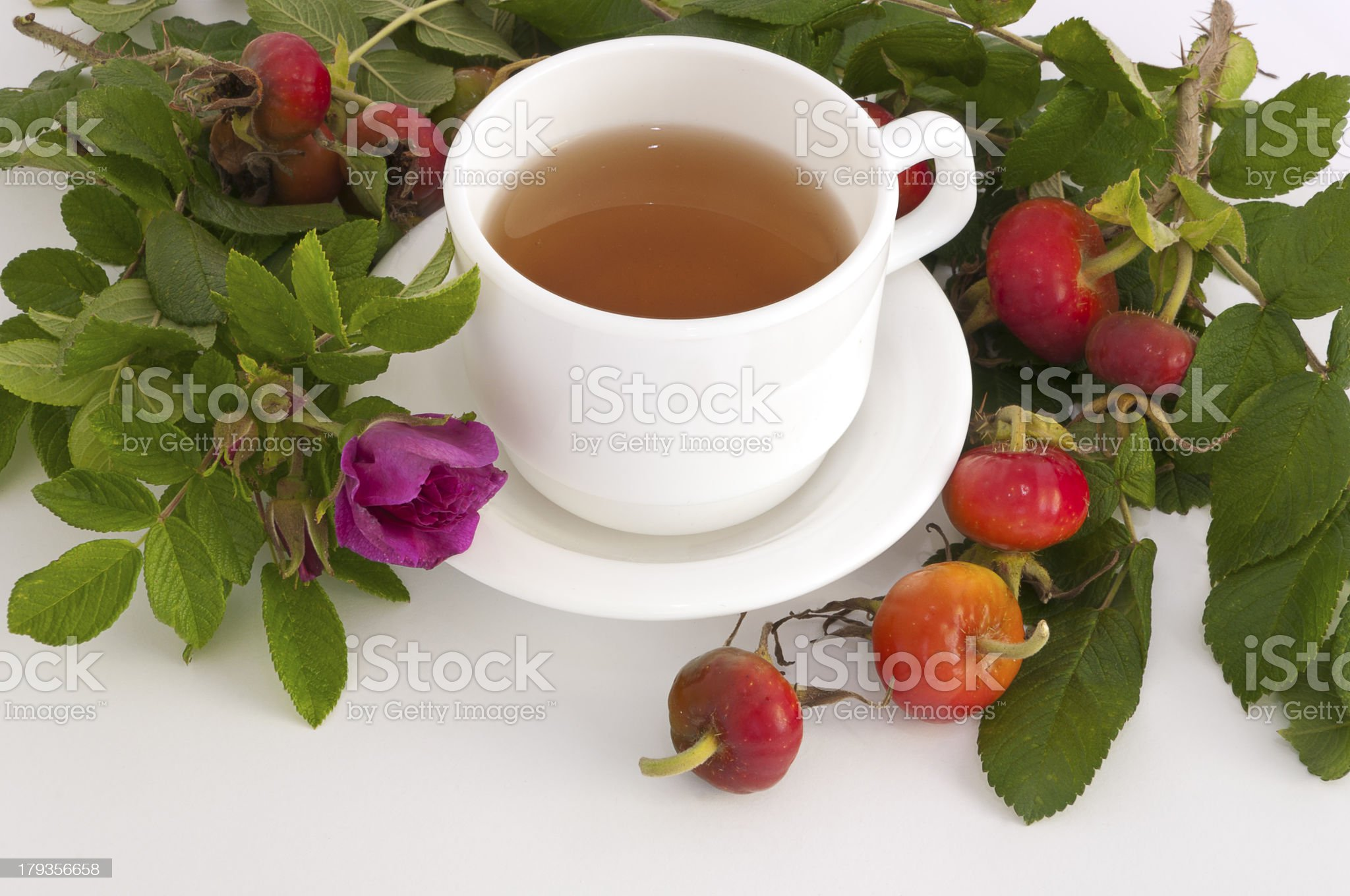 tea from rose hips royalty-free stock photo