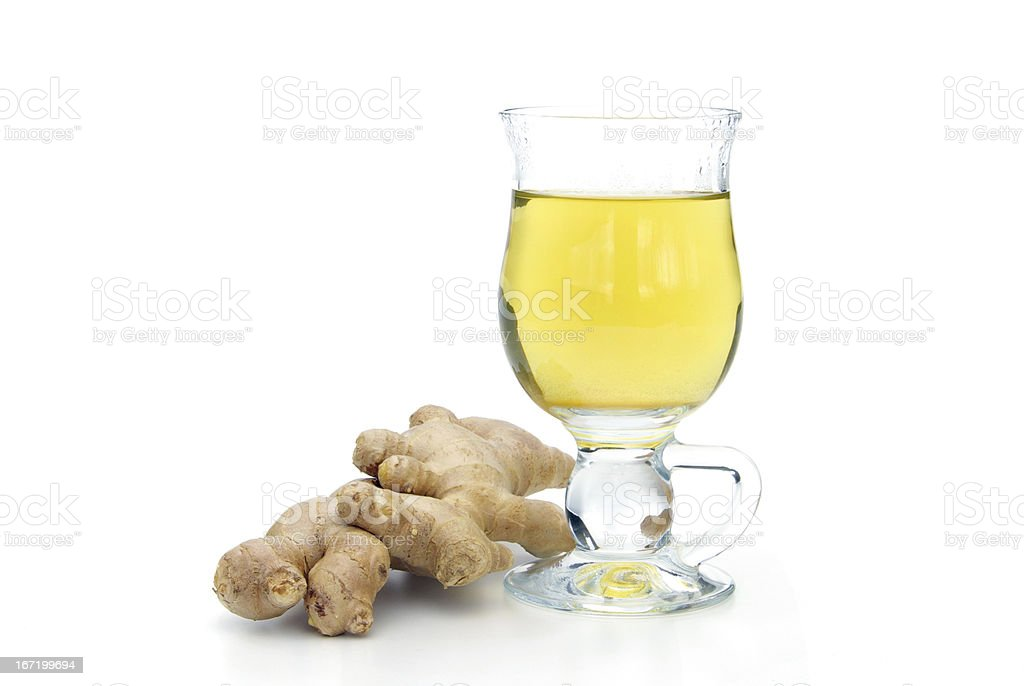 tea ginger royalty-free stock photo