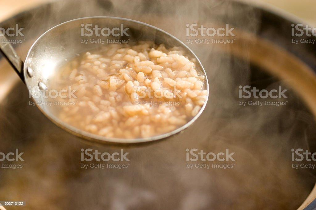 Tea gruel stock photo
