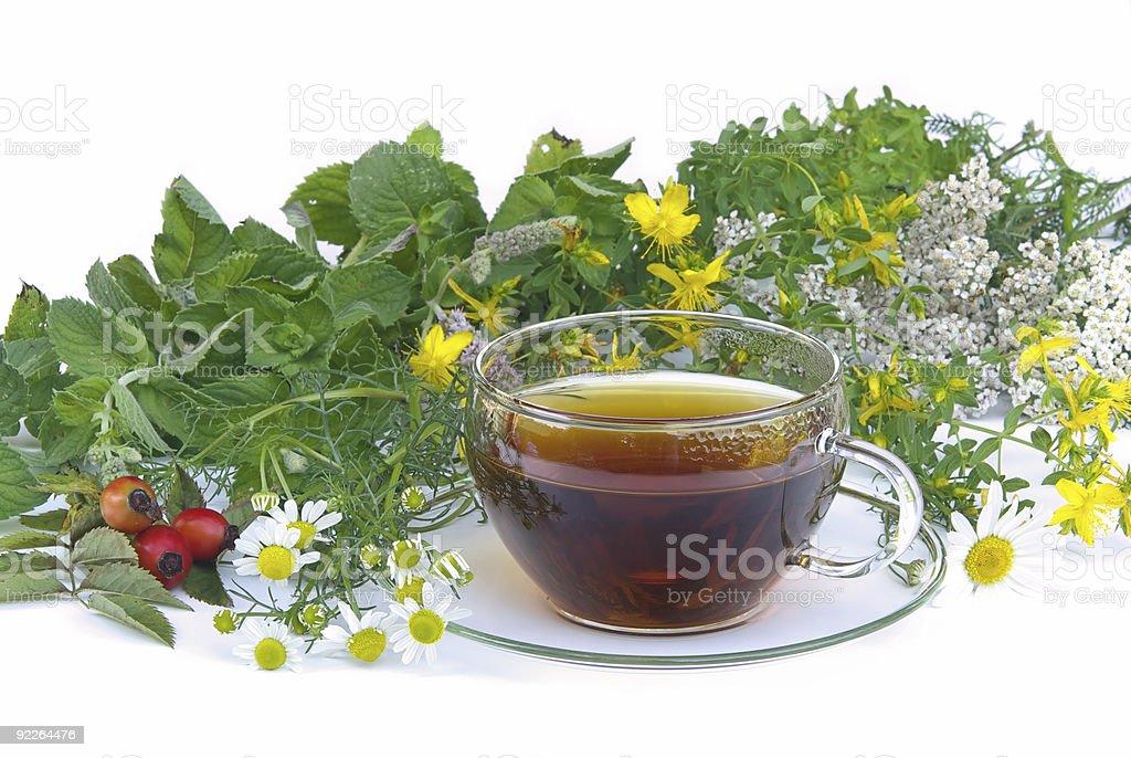 tea herbal royalty-free stock photo