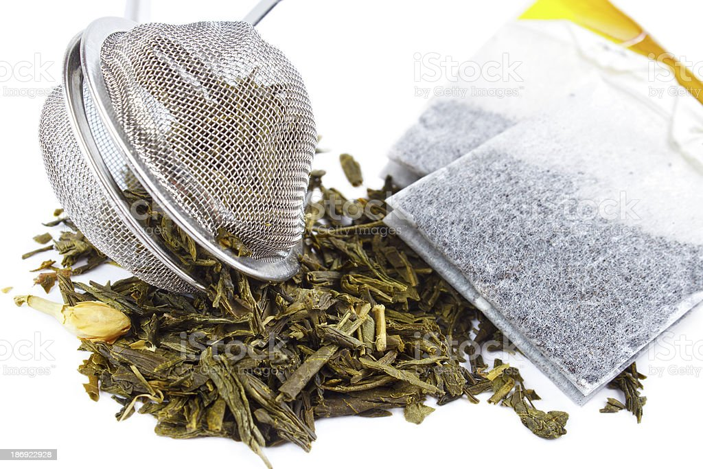 Tea herbs royalty-free stock photo