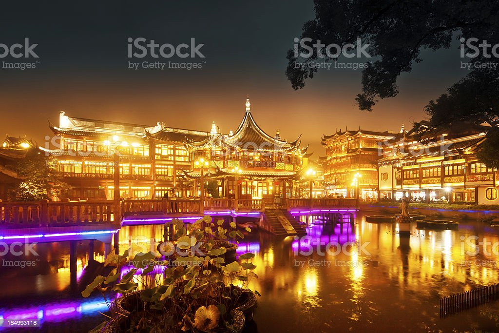 Tea House in Shanghai stock photo
