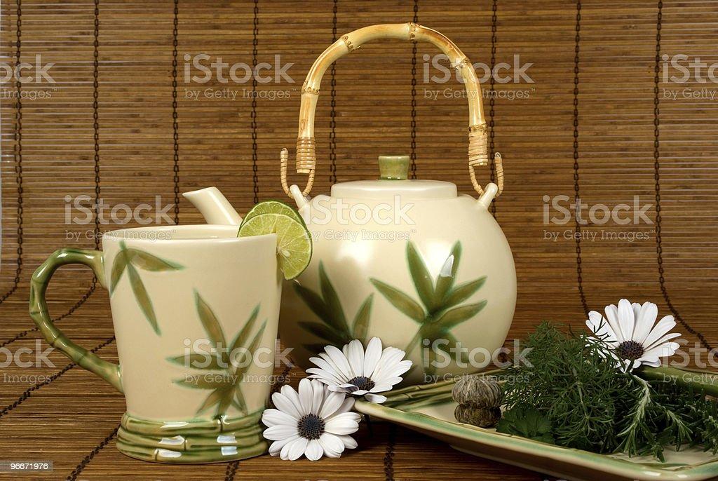 Tea in Spa royalty-free stock photo