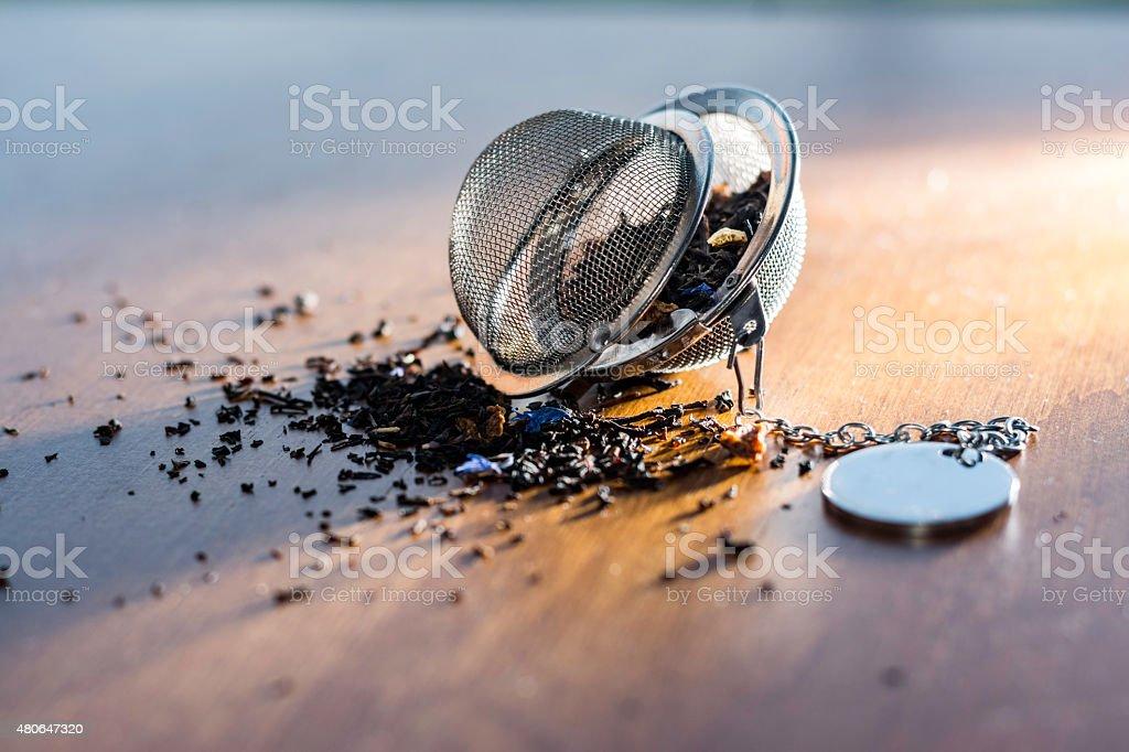 Tea Infuser stock photo