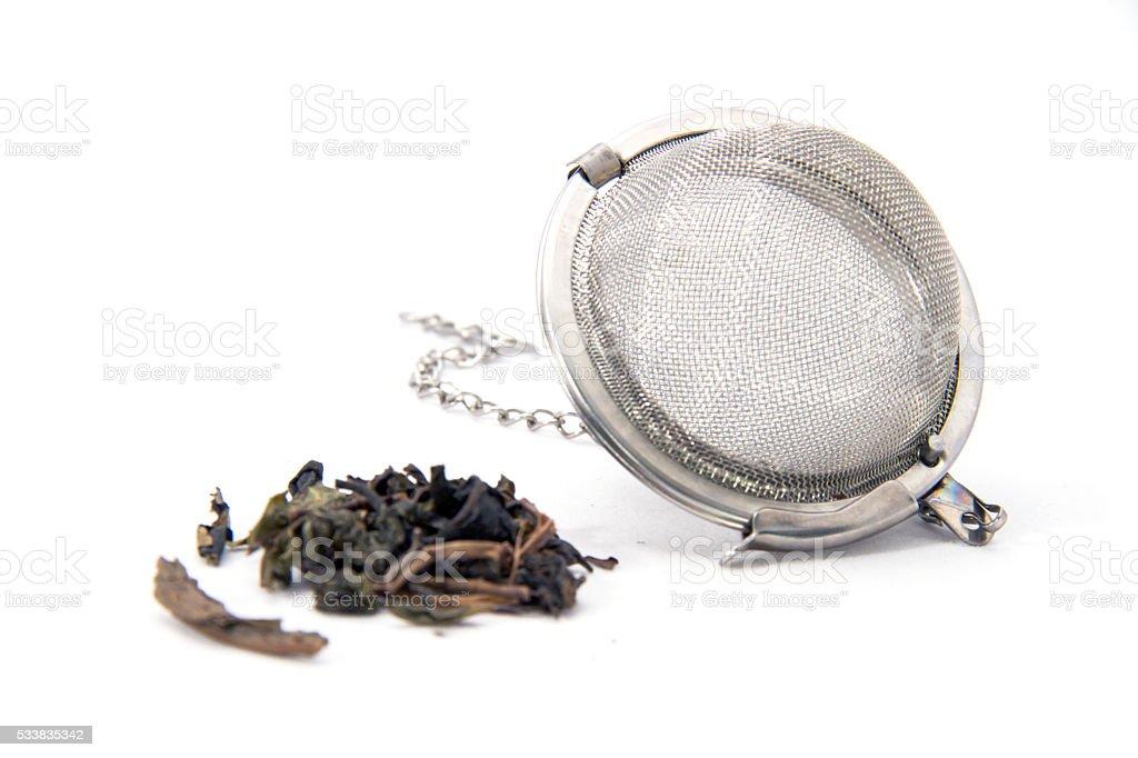 Tea Infusing stock photo