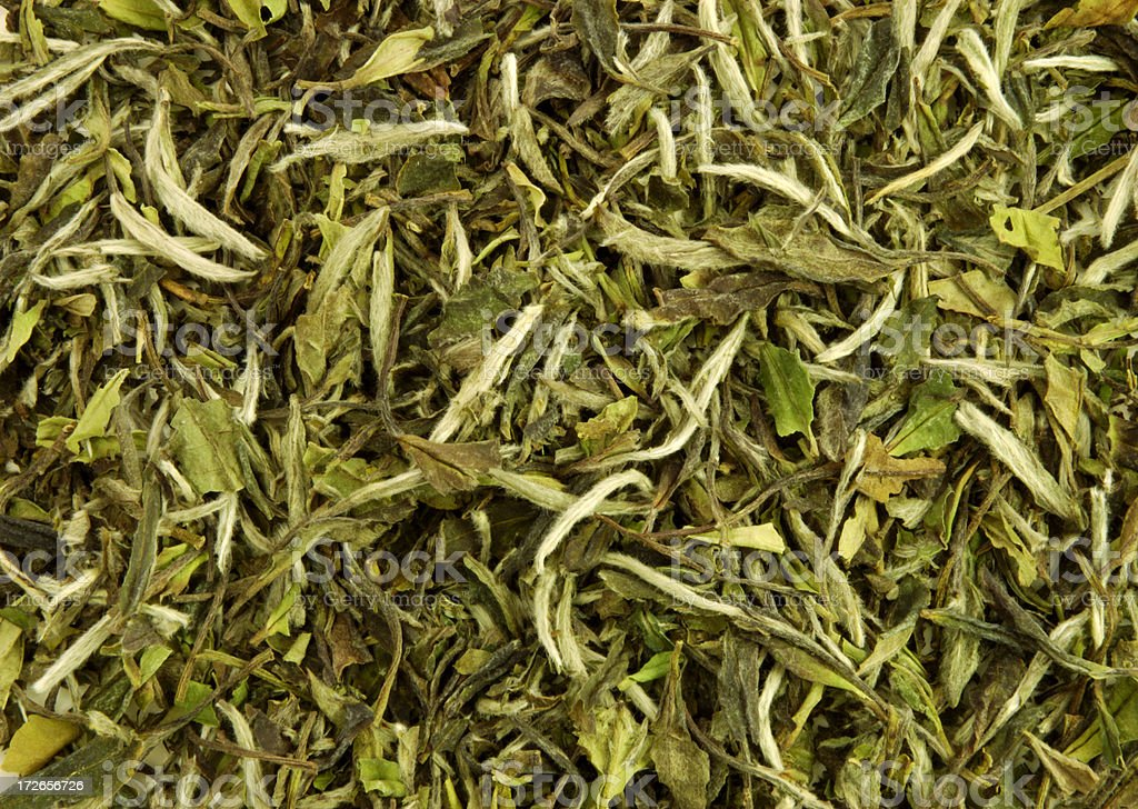 Tea leafs royalty-free stock photo