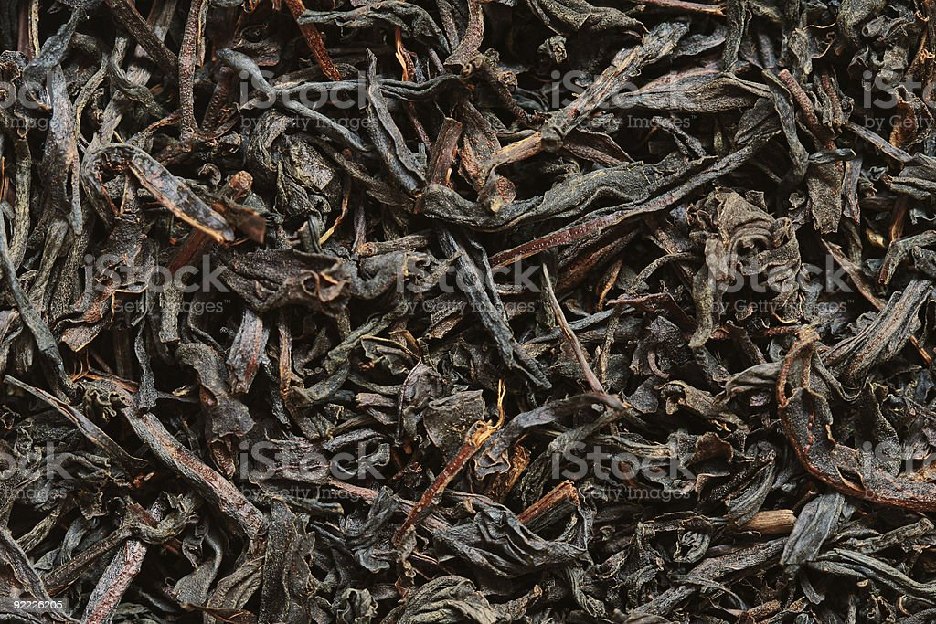 Tea leaves background royalty-free stock photo