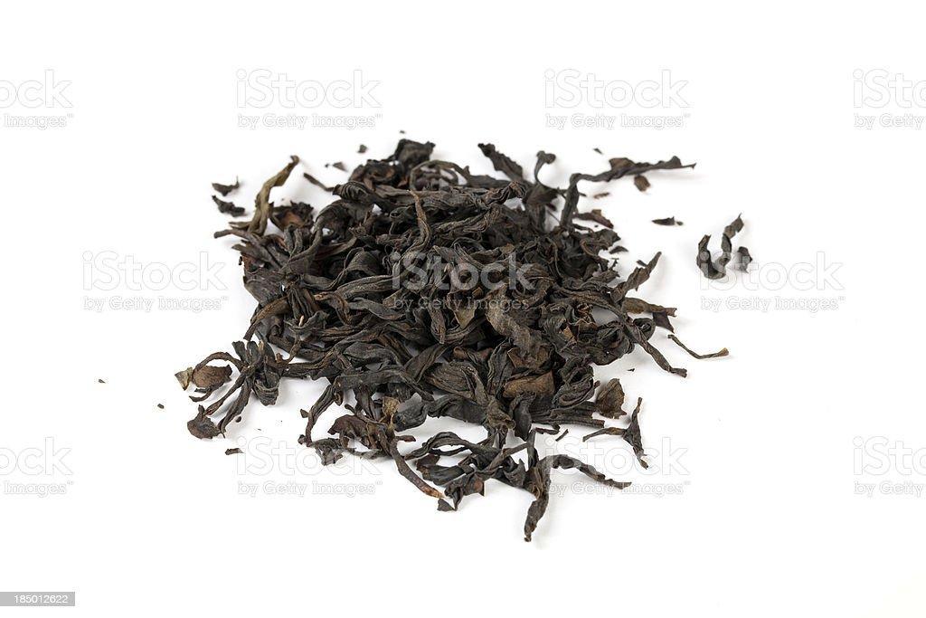 Tea Leaves royalty-free stock photo