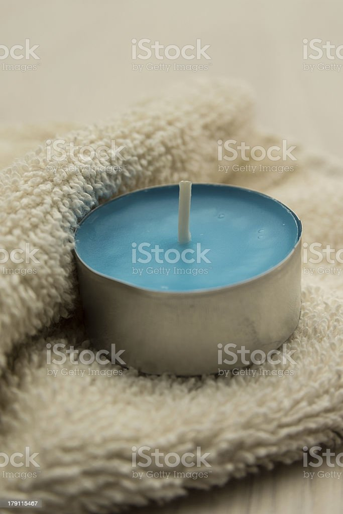Tea light royalty-free stock photo