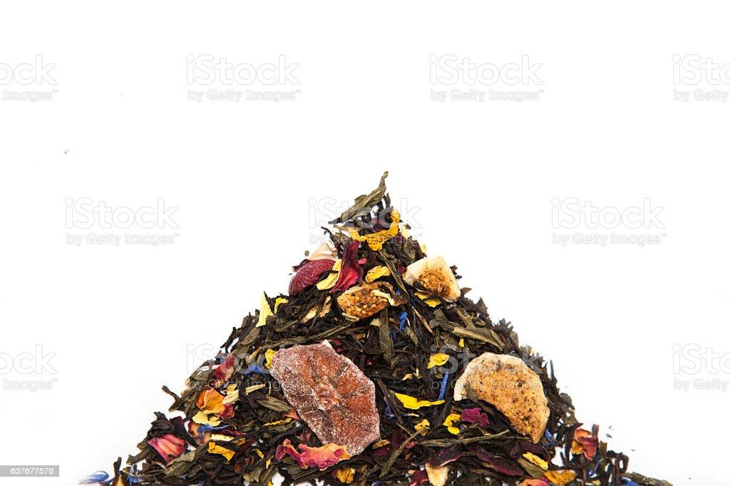 Tea Mountain Concept stock photo