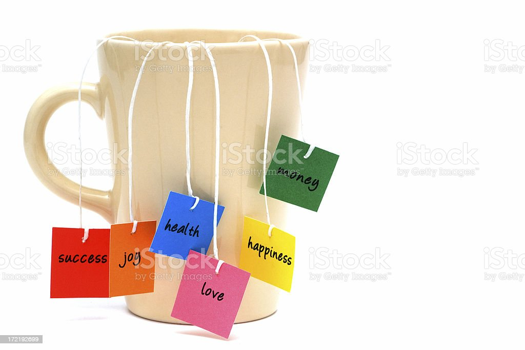 tea of wishes... royalty-free stock photo