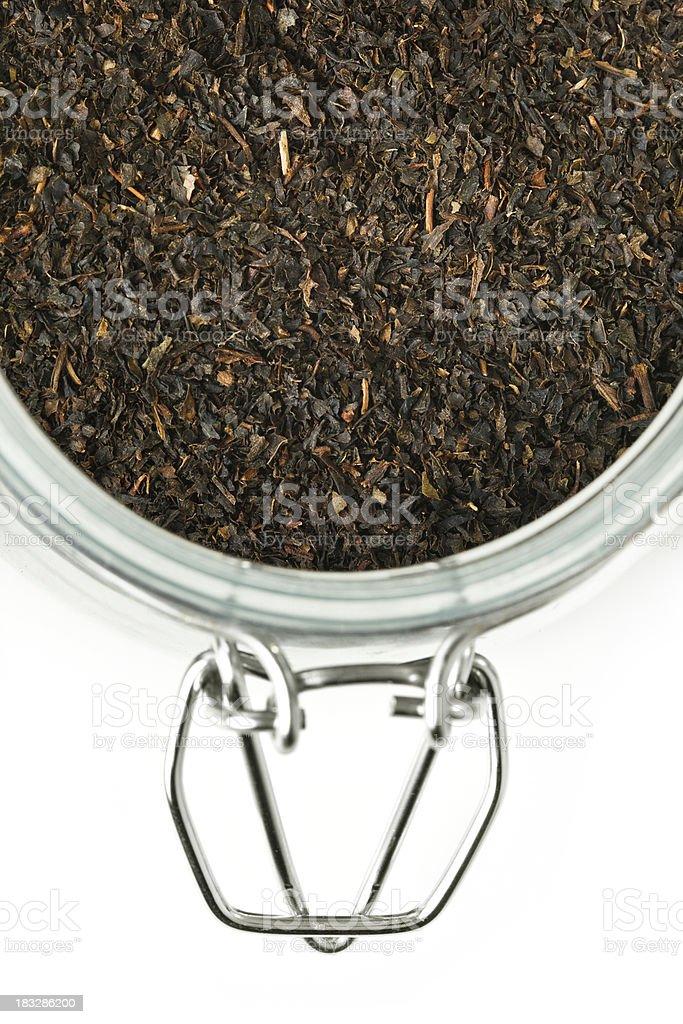 Tea on a Jar royalty-free stock photo