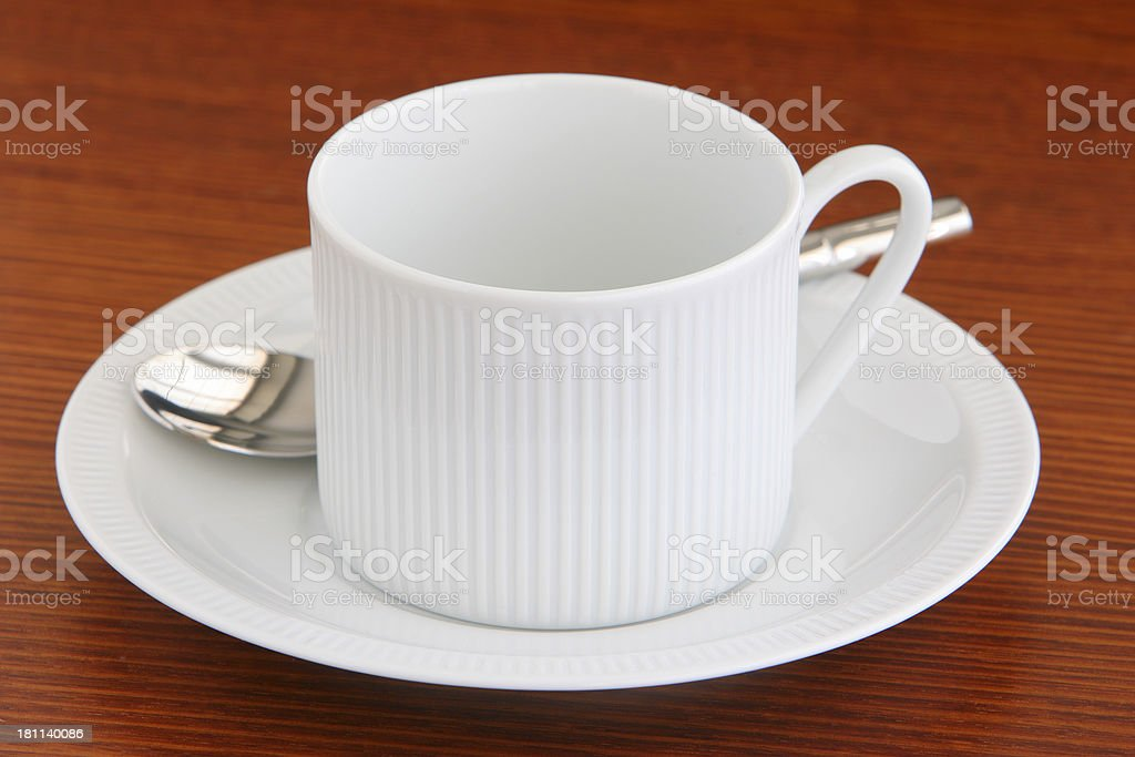 Tea or coffee cup stock photo