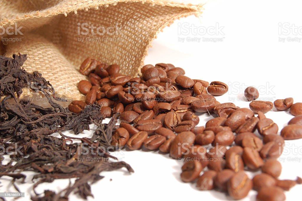 Tea or coffee? royalty-free stock photo