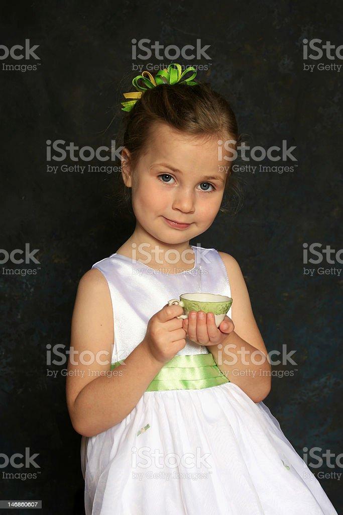 Tea party royalty-free stock photo