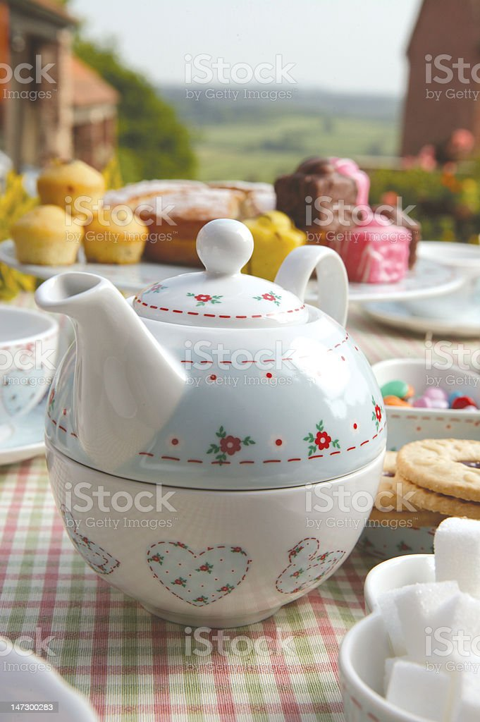 Tea Party royalty-free stock photo