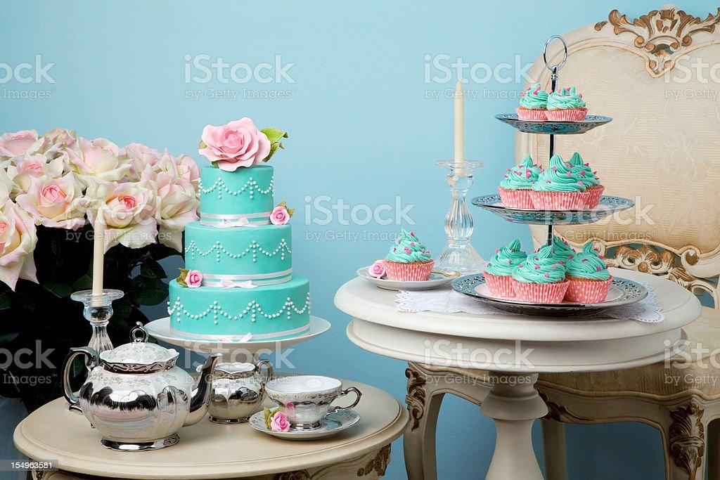 tea party stock photo