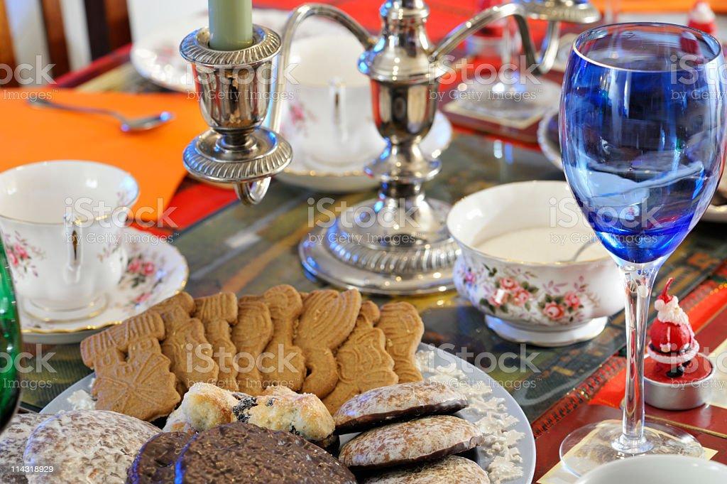 Tea Party Setting royalty-free stock photo