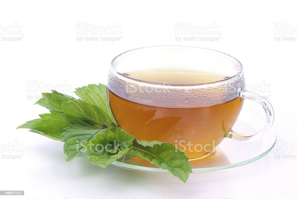 tea Peppermint stock photo